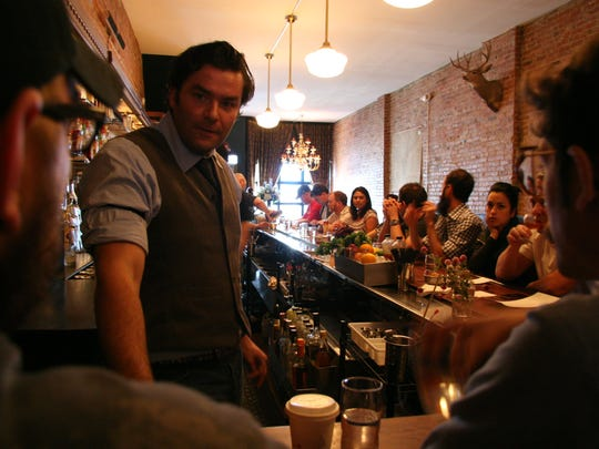 Detroit Optimist Society restaurateur Dave Kwiatkowski