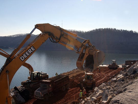 The Corps of Engineers were working hard in 2007 at