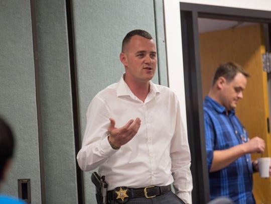 San Juan County Sheriff's Office Detective Erik Barlow
