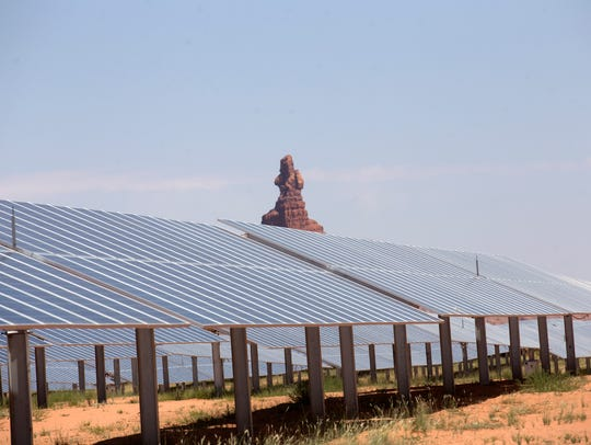 The Kayenta Solar Project facility may bring controls
