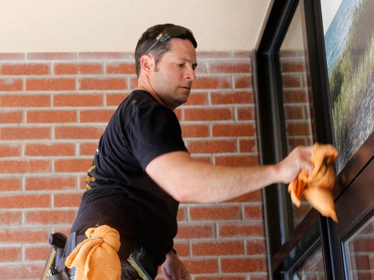 After six years of experience in cleaning all types of windows, Jeremy Higgins started Awesome Window Cleaning LLC in March.