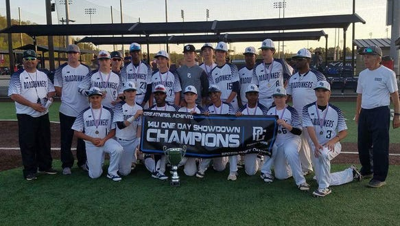 The 14U Georgia Roadrunners baseball team included