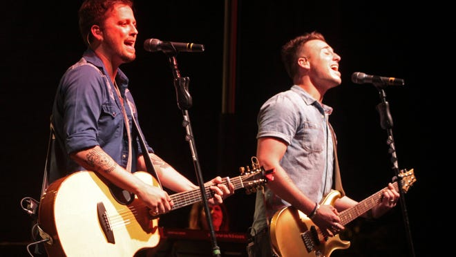 Love and Theft, seen here at a Clarksville Rivers and Spires concert, will perform Monday, Dec. 4, at the Shine for Susie ALS Benefit Concert in Nashville.