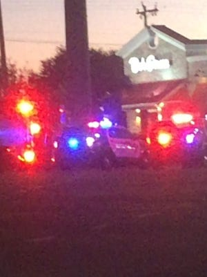 A large police presence is being reported at the Bob Evans restaurant on Del Prado in Cape Coral.