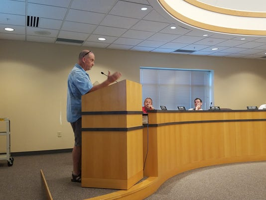 Germantown resident speaks against development