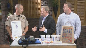 Watch Interview: AGFC, Sonic handing out 'citations' for kids practicing proper water safety