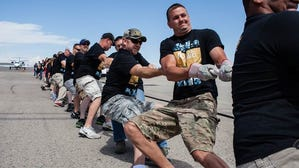 Special Olympics Plane Pull at DIA