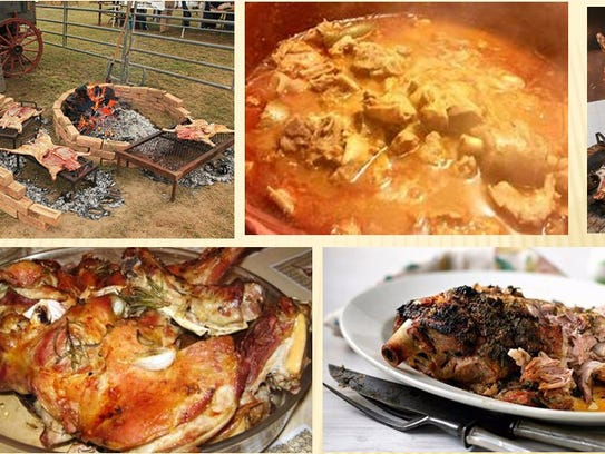 Eating cabrito, any style, is a fusion of Spanish,
