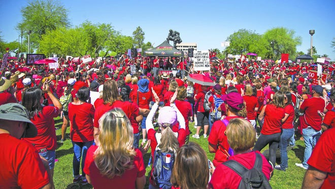 Teachers and other supporters of the #RedForEd movement celebrated in early May after the Legislature passed a bill to increase education spending. But that move, spurred by a teacher walkout, was just one chapter in Arizona's long search for a viable source of better funding for schools.