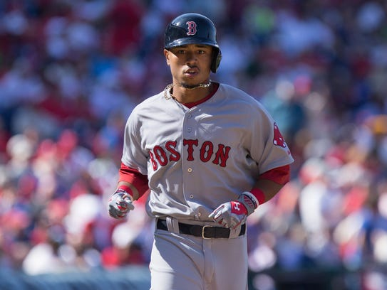 Mookie Betts could be a candidate to AL rookie of the