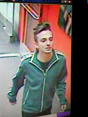 Police say this man urinated on video games at a Target in Wilkes-Barre.