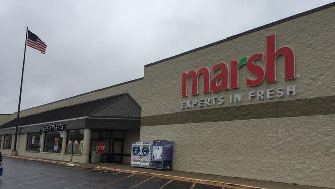 The Marsh supermarket on Tillotson Avenue in Muncie.