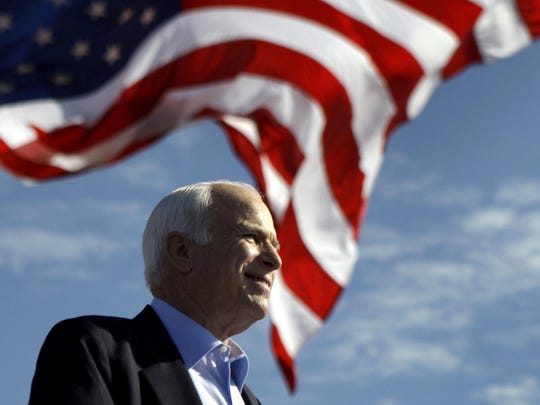 Sen. John McCain died Aug. 25 at the age of 81.