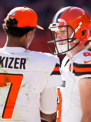 32. Browns (32): You know, fellas, Cody Kessler was pretty efficient last season (92.3 QB rating). Is he REALLY your third-best option?