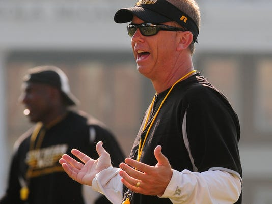 Southern Miss football practice02