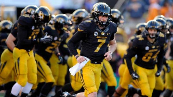 Maty Mauk and the Missouri Tigers are 14-1/2-point  underdog against Alabama for Saturday's SEC title game in Atlanta.