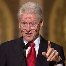 Former President Bill Clinton will be campaigning for gubernatorial candidate Mark Schauer and U.S. Senate candidate Gary Peters
