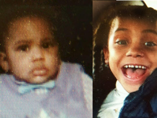 Kristian Justice, left, and his sister, Kaylah Hunter, are still missing.