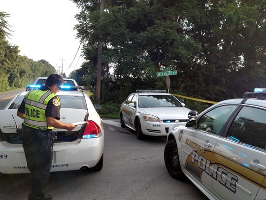 Clarksville Police were investigating a body that was