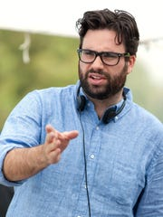 "Director Brett Haley on the set of Bleecker Street's new film, ""I'll See You in My Dreams."" Haley, a Pensacola native, also co-wrote the film, which is screening locally at Carmike Bayou 15."