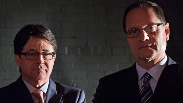 """Dean Strang and Jerry Buting, defense attorneys in the Netflix documentary """"Making a Murderer"""" will speak at the Aronoff Center May 1."""