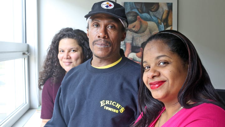 Gerard Whitehead of Yonkers, 50, who is HIV positive,