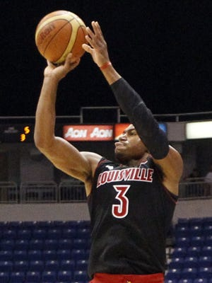 Transfer Trey Lewis is expected to play a starring role for Louisville this season.