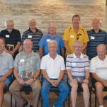 Pictured are (seated from left) Ken Gardner, Bill Willis, Livonia Mayor Dennis Wright, Craige Moore, Ken Hunt, (standing from left) Ted Davis, Mike Thomas, Bob Walsh, Craig Cebulskie, Tom Lesondak, Larry Gawlik and Paul Worley.