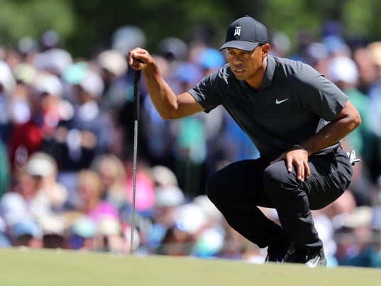 Round 1 of the Masters