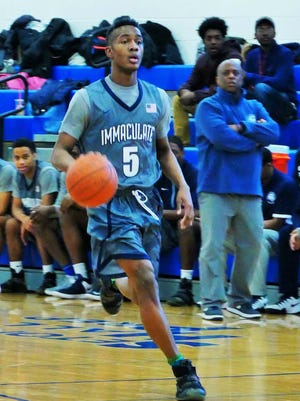 Senior guard Jalen Carey of Immaculate Conception signed with Syracuse.