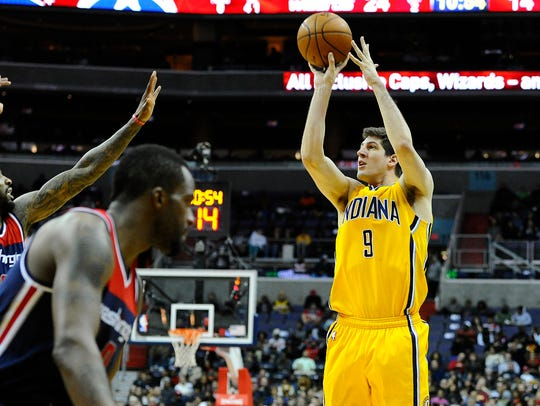 Damjan Rudez had his moments during his rookie year.