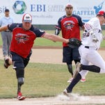 Video: Elmira Pioneers host Wounded Warrior Amputee Softball Team