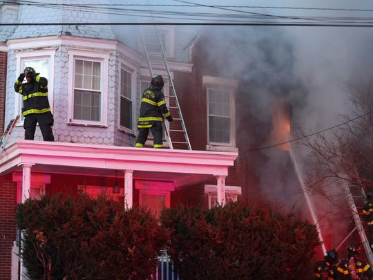 Nah'Shon Hyland said he had to jump from the second floor of the home on Concord Avenue in Wilmington to survive the fatal fire.