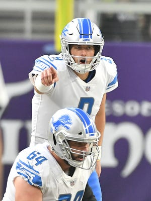 Lions quarterback Matthew Stafford is the most recognizable athlete in Detroit.