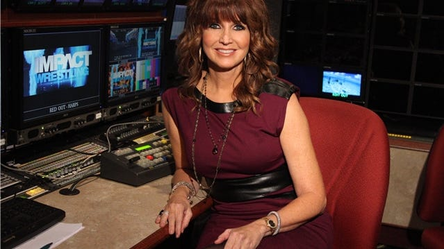 Dixie Carter is president of TNA wrestling.