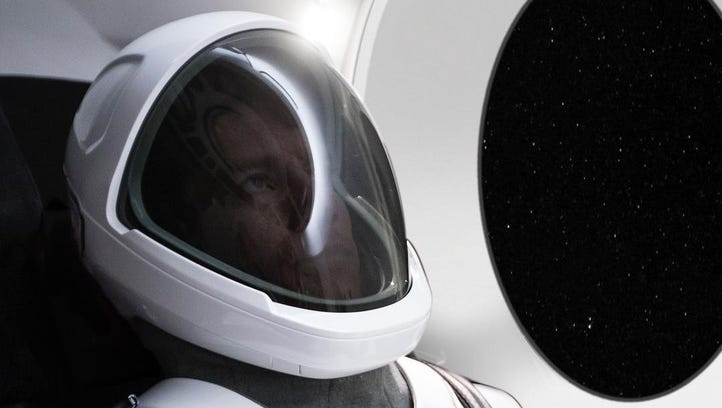 The first image of SpaceX's new spacesuit, released