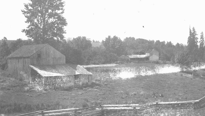 GeerCrest Orchard as it appeared in 1870.