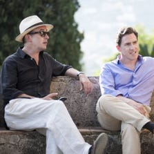 """Steve Coogan and Rob Brydon in a scene from """"The Trip To Italy."""""""