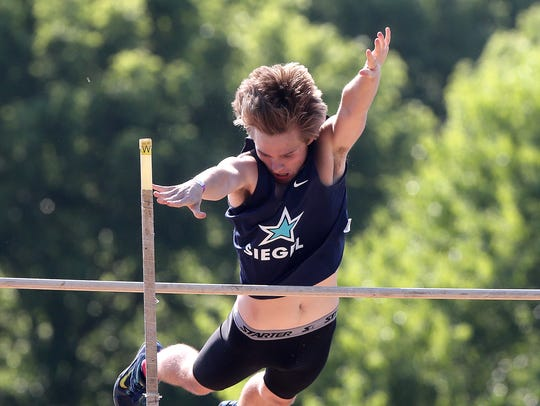 Siegel's Ross Sessions finished 12th in the Class AAA