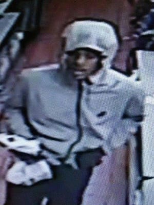 Metro Police are looking for this man after they say he robbed a McDonald's at gunpoint Jan. 9, 2017.