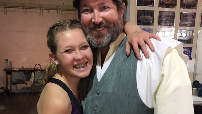"Jillian and Shaun Plymale star in the StarStruck Theatre production of ""Fiddler on the Roof."""