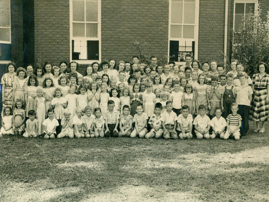 Vacation Bible School at Malesus Baptist in 1947.
