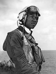 Jesse L. Brown, the U.S. Navy's first black aviator,