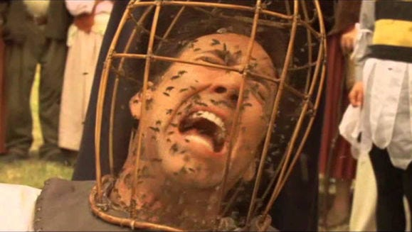 Nicolas Cage in 'The Wicker Man'