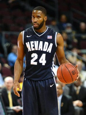 Nevada point guard Deonte Burton plays against Missouri during a game earlier this season at the Las Vegas Invitational.