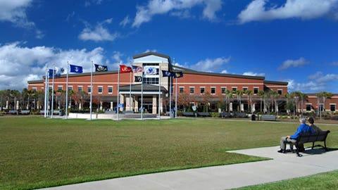 Gulf Coast VA Center in Pensacola.