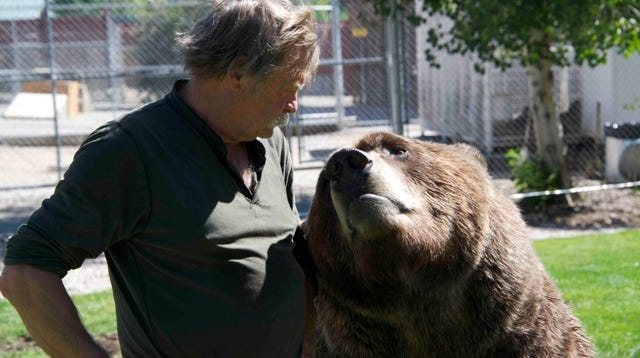For more than 40 years, Doug Seus has devoted his life to the training of bears and other animals.