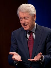 """I think the danger of that is — I saw this unfold — something jaw-dropping new happens every day; you have to report on it, and pretty soon people get pretty exhausted listening to it,"" former president Bill Clinton said."