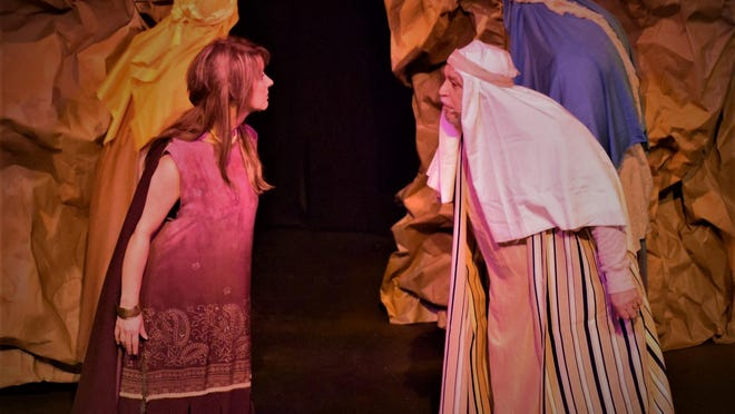 """Starring in the Endicott Performing Arts Center production of """"Ascend"""" are Christina Taylor, left, and Lou Ligouri."""