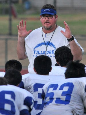 Matt Dollar has resigned after 10 years as the head football coach at Fillmore High.